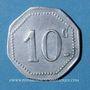 Monnaies Montauban (82). Café Raymond. 10 centimes