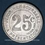 Monnaies Montpellier (34). Mercerie Lyonnaise. 25 centimes