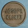 Monnaies Mulhouse (68). Joseph Klintz, restaurant. 10 pfennig