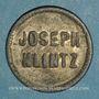 Monnaies Mulhouse (68). Joseph Klintz, restaurant. 18 pfennig
