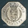 Monnaies Narbonne (11). Grands Magasins du Printemps, Maison Milhaud. 10 centimes 1917, aluminium