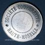 Monnaies Neuves-Maisons (54). Société Coopérative Haute-Moselle - Restaurant. 1 franc