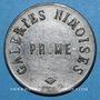 Monnaies Nîmes (30). Galeries Nîmoises. 1 (franc)