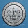 Monnaies Oullins (69). Société Coopérative P. L. M., La Renaissance. 25 centimes 1916, contremarqué