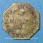 Monnaies Paris (75). A la Pinte du Nord - Monnier (38 rue Saint Quentin). 20 centimes