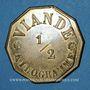 Monnaies Paris (75). Paroisse Saint-Etienne du Mont. 1/2 kg viande