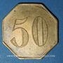 Monnaies Paris (75). Restaurant Le Cardinal (Rue Richelieu). 50 centimes