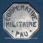 Monnaies Pau (64). Coopérative Militaire. 10 centimes