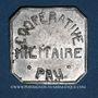 Monnaies Pau (64). Coopérative Militaire. 25 centimes