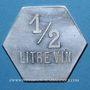 Monnaies Pompey (54). Ruche de Pompey. 1/2 litre de vin