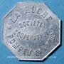 Monnaies Pompey (54). Société Coopérative La Ruche. 1 kg pain, avec contremarque rectangulaire