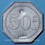 Monnaies Pompey (54). Société Coopérative La Ruche. 50 centimes