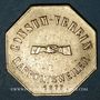 Monnaies Ribeauvillé (68). Consum Verein. Fünf Pfund Brod (5 livres de pain). 1877. Flan épais