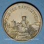 Monnaies Ribeauvillé (68). Zum Hoh-Rappolstein. (1 chope de bière)