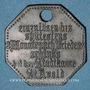 Monnaies Saint-Avold (57). Ville. 25 pfennig 1917