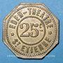 Monnaies Saint-Etienne (42). Eden Théâtre. 25 centimes