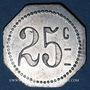 Monnaies Saint-Etienne (42). Parfumerie -  Articles de Nettoyage, F. Epitalon. 25 centimes
