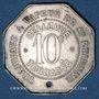 Monnaies Saint-Etienne (42). Tramways à Vapeur, Bellevue, Terrasse, St Etienne, Firminy, ..., 10 centimes