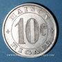 Monnaies Saint-Mathieu-de-Tréviers (34). Maison Rigail. 10 centimes