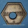 Monnaies Saulnes (54). Union Coopérative. Baguette. Perforé