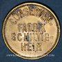 Monnaies Schiltigheim (67). Conservenfabrik (fabrique de conserves). 10 pfennig, type 2