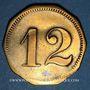 Monnaies Schiltigheim (67). Conservenfabrik (fabrique de conserves). 12 pfennig, type 3
