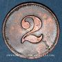 Monnaies Schiltigheim (67). Conservenfabrik (fabrique de conserves). 2 pfennig, type 2