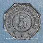 Monnaies Sélestat (67). 5 (pfennig) 1917