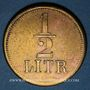 Monnaies Strasbourg (67). A. Beyer (aubergiste, 1872-90). 1/2 litre