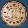 Monnaies Strasbourg (67). Arb. Consum Genossenschaft. 1 pfennig