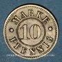 Monnaies Strasbourg (67). Arb. Consum Genossenschaft. 10 pfennig