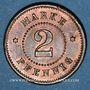 Monnaies Strasbourg (67). Arb. Consum Genossenschaft. 2 pfennig
