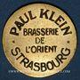 Monnaies Strasbourg (67). Brasserie de l'Orient - Paul Klein. 50 centimes