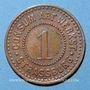 Monnaies Strasbourg (67). Consum-Genossenschaft Artillerie Werkstadt. 1 (pfennig)
