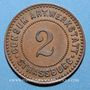 Monnaies Strasbourg (67). Consum-Genossenschaft Artillerie Werkstadt. 2 (pfennig)