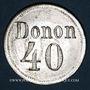 Monnaies Strasbourg (67). Donon. 40 pfennig n. d.