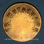 Monnaies Strasbourg (67). Fr. Mutschler (restaurant Grande Taverne Vignette). 10 centimes