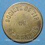 Monnaies Strasbourg (67). Société de tir. sans valeur