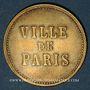Monnaies Strasbourg (67). Ville de Paris - J. Burger. sans valeur