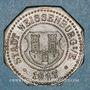 Monnaies Wissembourg (67). Ville. 10 pfennig 1917