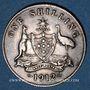 Monnaies Australie. Georges V (1910-1936). 1 shilling 1912