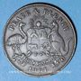 Monnaies Australie. Robert Hyde & Co, Melbourne. Token (1/2 penny 1861)