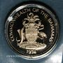 Monnaies Bahamas. 5 cents 1974