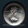 Monnaies Canada. Elisabeth II (1952- /). 10 dollars 1974. J.O. Montréal. Crosse