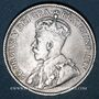 Monnaies Canada. Georges V (1910-1936). 25 cents 1914