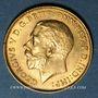 Monnaies Afrique du Sud. Georges V (1910-1936). 1/2 souverain 1926 SA. Prétoria. (PTL 917‰. 3,99 g)