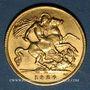 Monnaies Afrique du Sud. Georges V (1910-1936). 1/2 souverain 1926SA, Prétoria. (PTL 917/1000. 3,99 g)