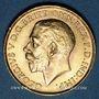 Monnaies Afrique du Sud. Georges V (1910-1936). Souverain 1925 SA. Prétoria. (PTL 917‰. 7,99 g)