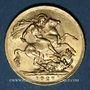 Monnaies Afrique du Sud. Georges V (1910-1936). Souverain 1927 SA. Prétoria. (PTL 917‰. 7,99 g)