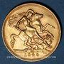 Monnaies Afrique du Sud. Georges V (1910-1936). Souverain 1929 SA. Prétoria. (PTL 917‰. 7,99 g)